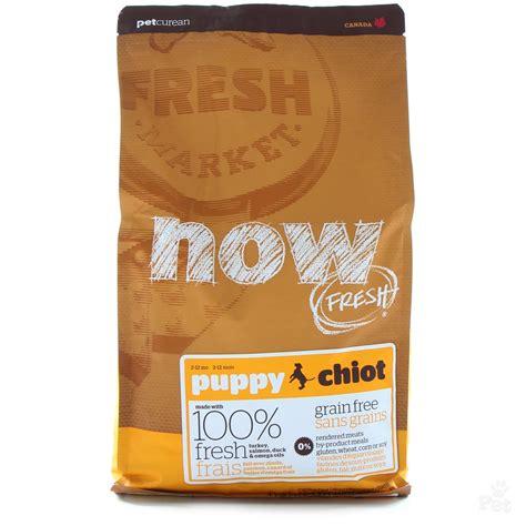 grain free puppy food now fresh grain free puppy food