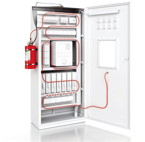Electrical Cabinet by Firedetec Electrical Cabinet Suppression And