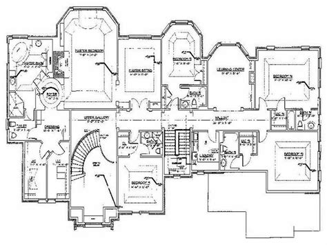 luxury home blueprints modern luxury home floor plans modern home floor plans in