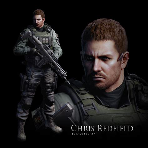chris redfield character bomb