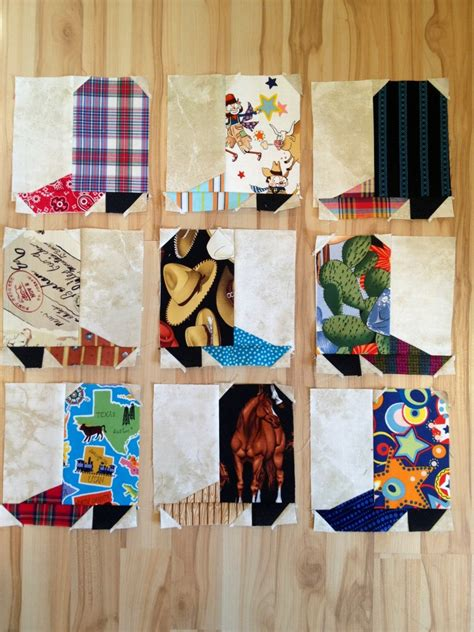 Cowboy Boot Quilt Pattern by Cowboy Quilt Patterns Cake Ideas And Designs