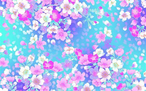 wallpaper girly flowers والپیپر گلهای رنگارنگ دخترانه زیبا girly flowers wallpaper