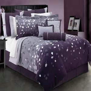 Dark purple bedding sets oogurf bed and bath
