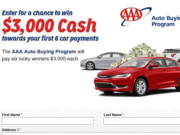 Www Aaa Com Sweepstakes - aaa national auto payments sweepstakes
