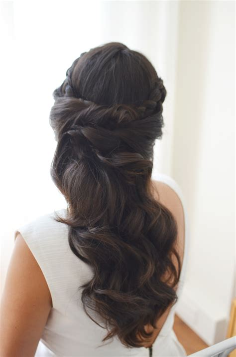 bridal hairstyles dark hair 6 wedding hair ideas alicia fashionista