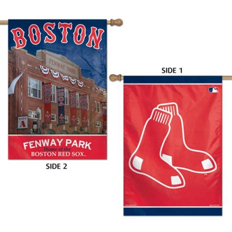 double sided house flags boston red sox double sided house flag your boston red sox double sided house flag