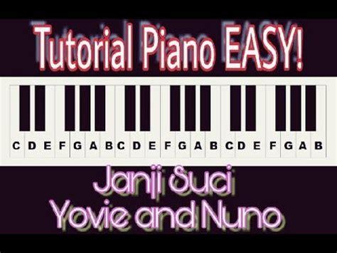 Tutorial Keyboard Janji Suci   tutorial piano jaman now janji suci yovie and nuno by