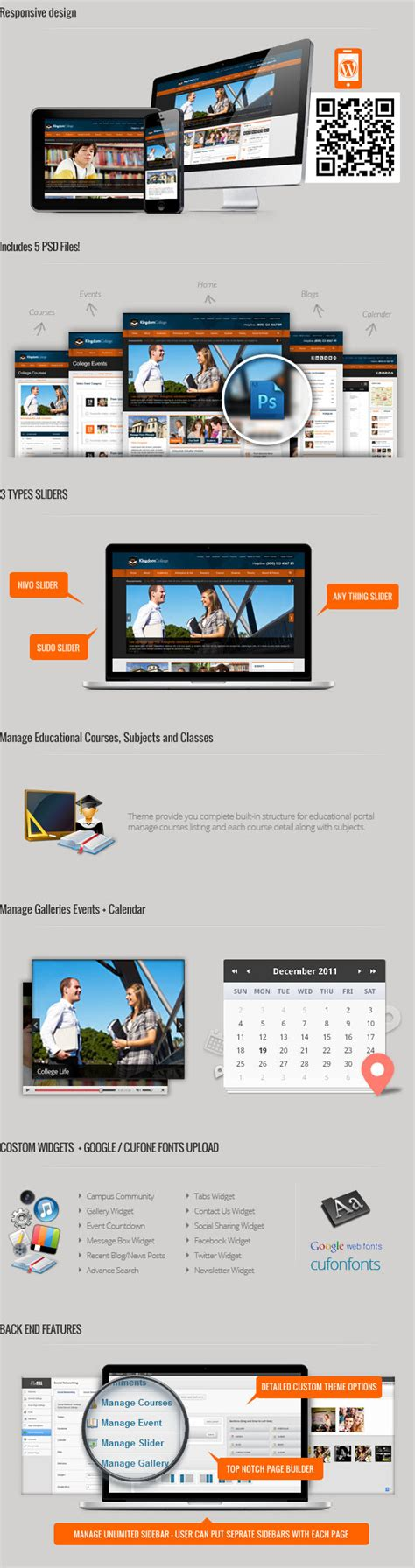 themeforest download old version kingdom college educational wordpress theme by
