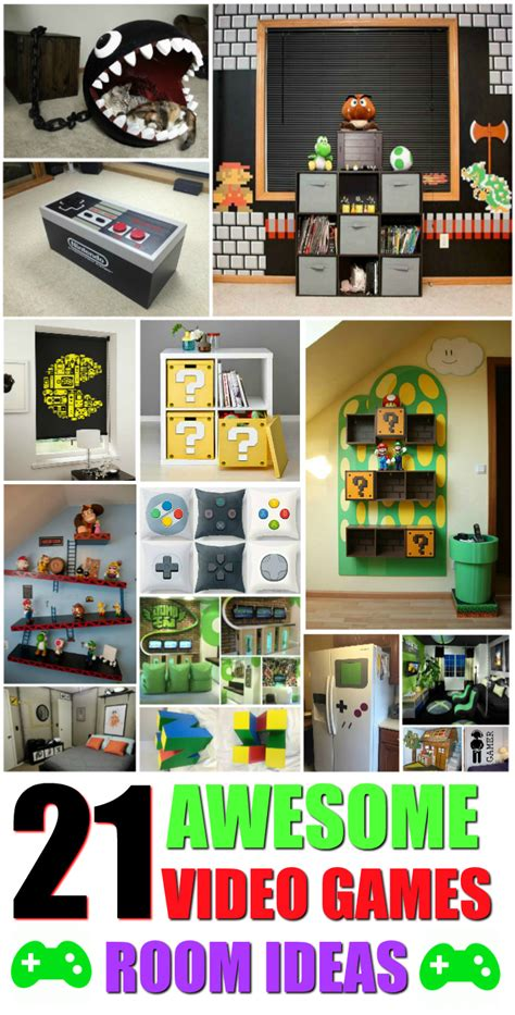 gaming home decor 21 truly awesome video game room ideas video game rooms