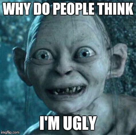 Ugly People Memes - gollum meme imgflip