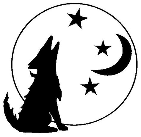 coyote clipart coyote howling clip howling coyote silhouette