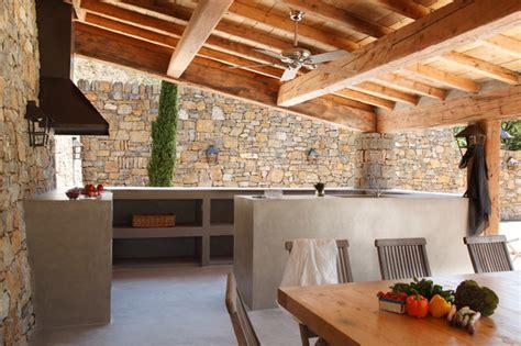 cuisine exterieur cuisine d ext 233 rieur en b 233 ton cir 233 contemporary deck