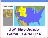 usa map jigsaw level two second grade geography birch grove primary school