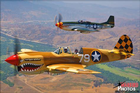 air to air photo shoot uss iowa flight p 40n warhawk and