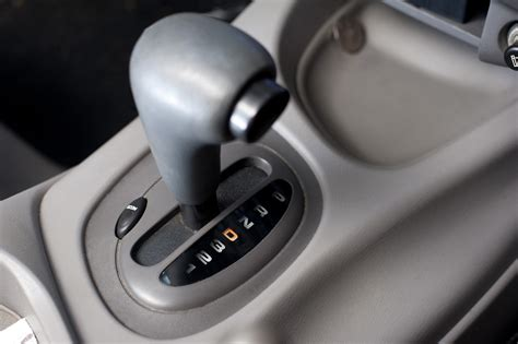Auto Matic Car by Image Of Detail Of Automatic Gear Shift In Drive Position