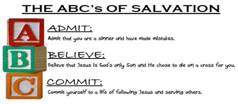printable abc s of salvation shamrock first baptist church