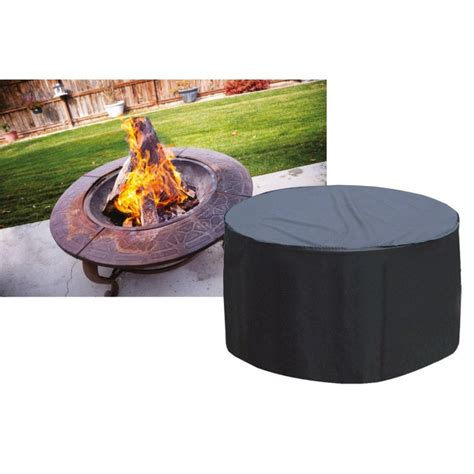 Firepit Pad Large Firepit Cover Black