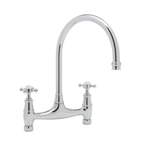 rohl kitchen faucet rohl u 4790x perrin and rowe bridge kitchen faucet atg