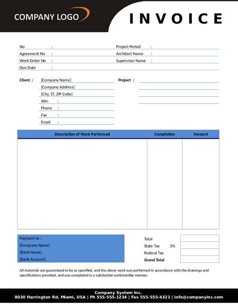 ups proforma invoice template