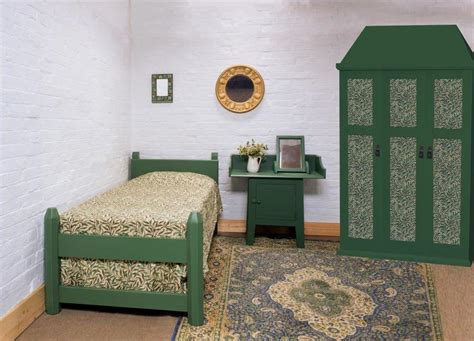 bedroom arts and crafts ideas arts crafts movement oak painted beds wardrobes