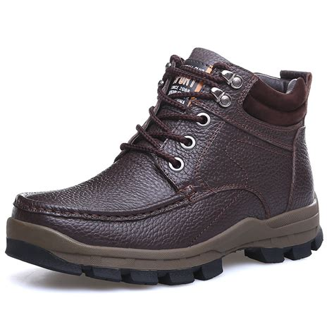 winter boots genuine leather warm s business casual