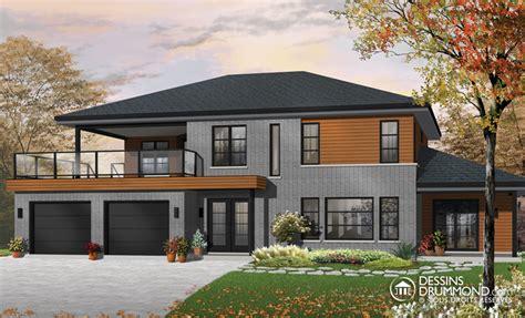 modern multi family building plans zen contemporain jumel 233 s bi g 233 n 233 ration w3046