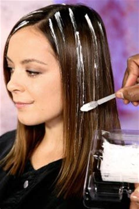 How To Diy Highlights For Dark Hair   highlighting hair how to highlight your hair at home