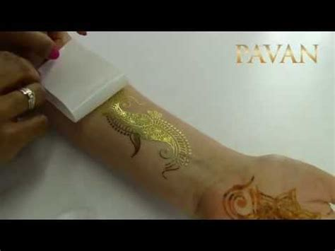 flash tattoo apply how to apply henna flash tattoos youtube