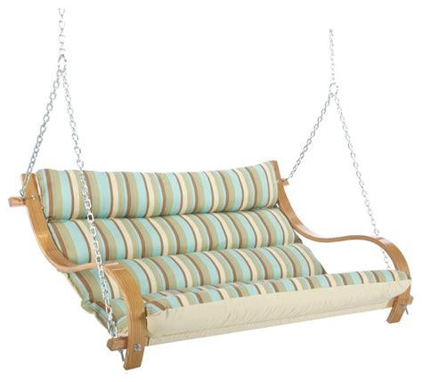 hatteras swings hatteras hammocks deluxe cushioned double swing