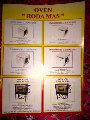 Oven Gas Roda harga oven gas uk 120cm thermometer thermo bonus loyang