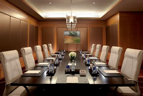 Corner Dining Room Set by Executive Boardroom The Ritz Carlton Toronto