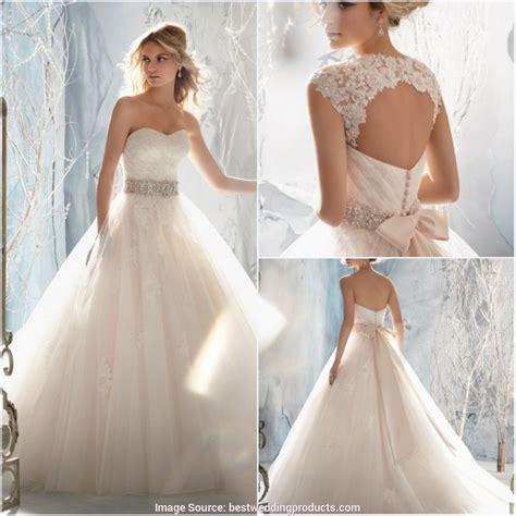 Hochzeitskleid Spitze by Beste Hochzeitskleid Spitze R 252 Ckenfrei T 252 Ll
