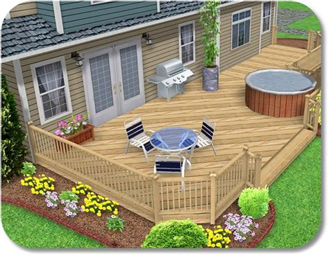 outdoor deck design software free deck and fence design software woodworking projects plans