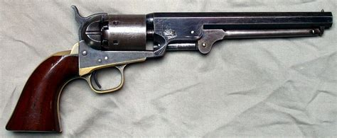 colt 1851 navy 36 cal early second generation colt 1851 navy revolver wikipedia
