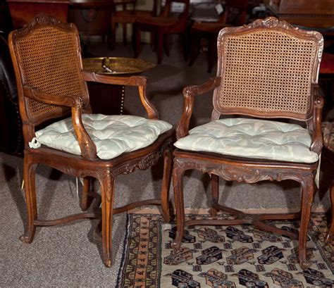 french provincial armchairs pair of french provincial caned armchairs for sale at 1stdibs