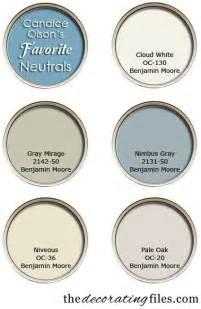 Choosing paint color candice olson s favorite neutrals