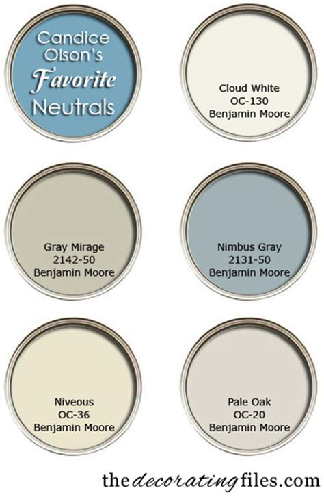 choosing paint color candace olsons favorite neutrals