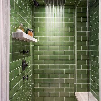 green subway tile bathroom green subway tile backsplash contemporary bathroom
