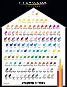 prismacolor colored pencil chart the gallery for gt prismacolor colored pencils color chart