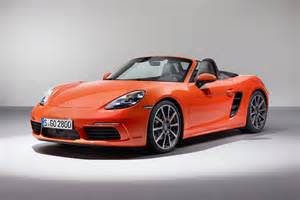 Porsche Ik New Porsche 718 Boxster Prices Specs And Details Of