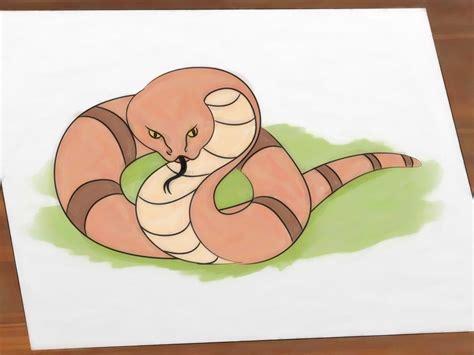 film ular kartun cara menggambar ular wikihow