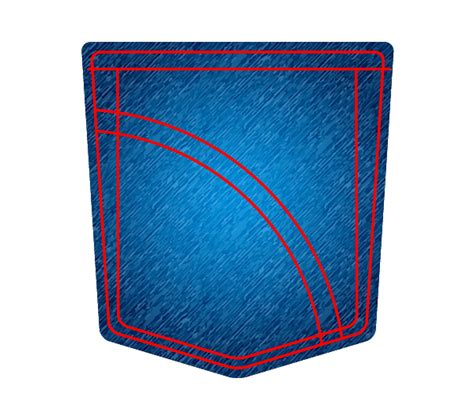 adobe illustrator denim pattern create a jeans pocket icon using adobe illustrator
