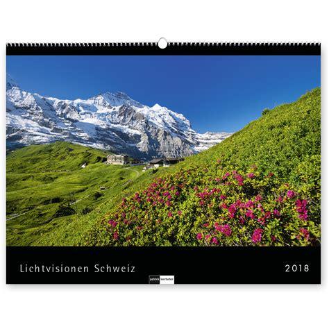 Switzerland Kalendar 2018 Kalender Lichtvisionen Schweiz Loertscher