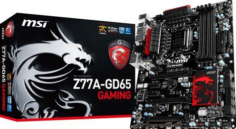 best msi motherboard z77 gaming motherboards released by msi