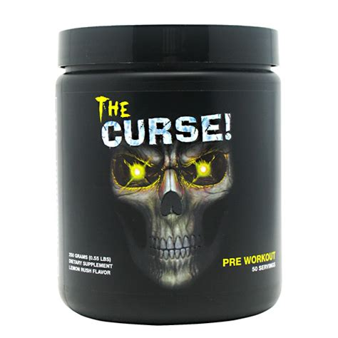 The Curse 50 Serving Pre Workout Cobra Labs Pre Work Out Preworkout cobra labs the curse discount sport nutrition sportsupplements