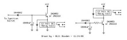 simple way to make a time delay relay
