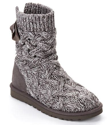 ugg cable knit boots ugg isla cable knit boots shoes 1008840 at