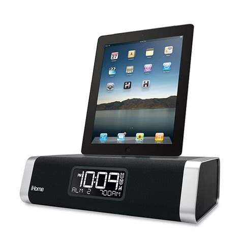 i home ihome ipad and iphone ipod speaker docks unveiled