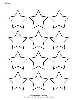 printable star sheet printable star templates free blank star shape pdfs