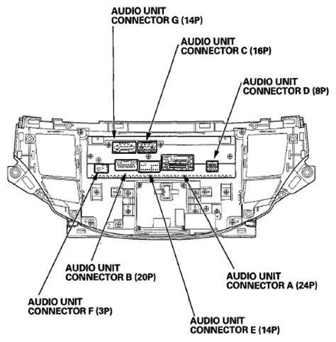 honda navigation wiring diagram wiring diagram with